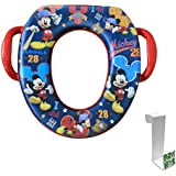Mickey Mouse All Star Soft Potty Seat with Toilet Tank...