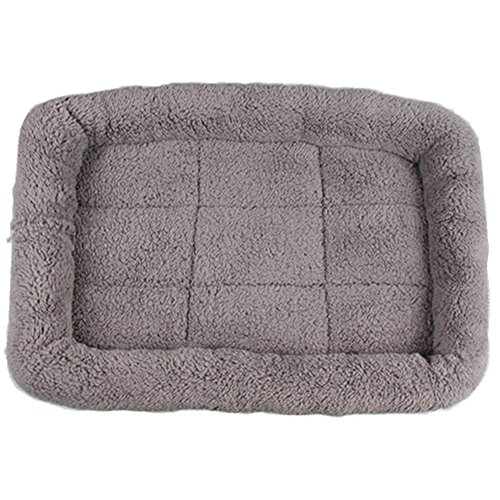 LESYPET Small Dog Crate Cotton Washable Mat Medium