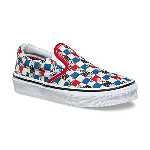 Galleon - Vans Kids X Marvel Classic Slip-On Skate Shoe (11 Little Kid M 85611721e