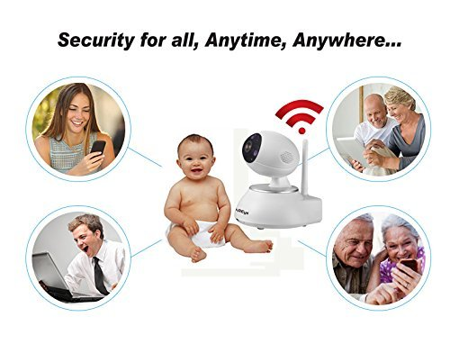 KAREye WiFi Video Doorbell, HD Baby Monitor Security IP Camera, All-in-one Smart Home Surveillance Alarm System, Window Sensor + Remote Control by KAREye