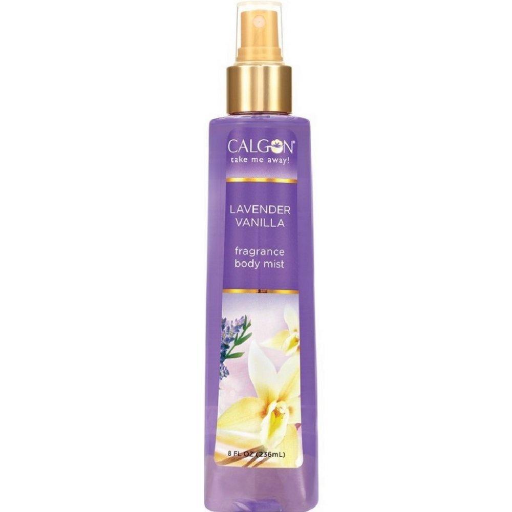 Calgon Fragrance Body Mist, Lavender Vanilla 8 oz