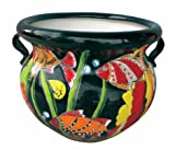 Talavera Planter (X-Large, Dark Blue) Review