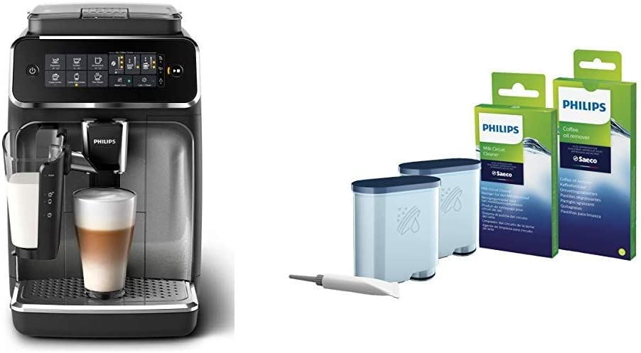Philips Serie 3200 LatteGo EP3246/70 - Cafetera super automática + ...