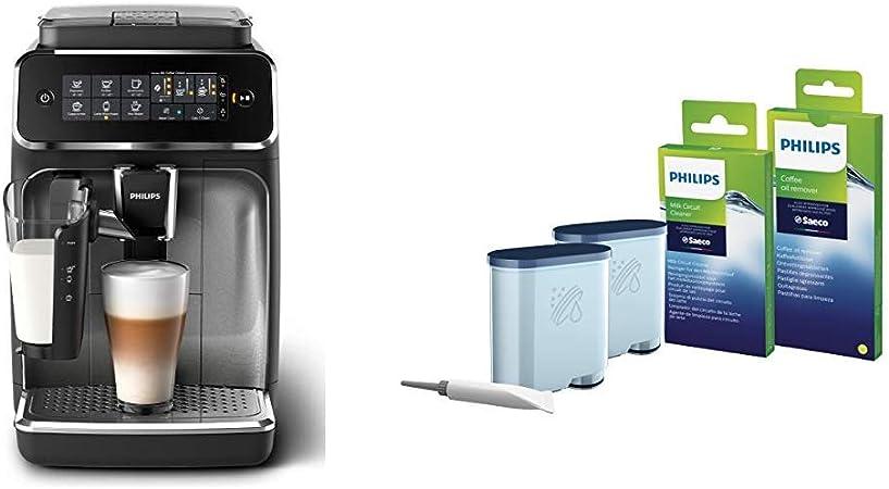 Philips Serie 3200 LatteGo EP3246/70 - Cafetera super automática + Kit de Mantenimiento para Máquinas Automáticas: Amazon.es: Hogar