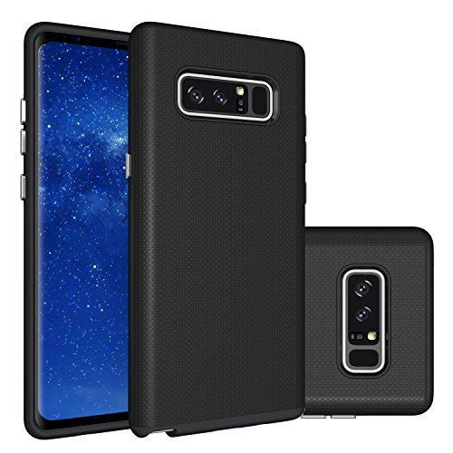 Galaxy Note 8 Case,Berry (TM) [Non-slip] [Drop Protection] [Shock Proof] [Dual Lawyer] Hybrid Defender Armor Full Body Protective Rugged Holster Case Cover For Samsung Galaxy Note 8