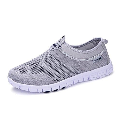 Spring 2018 Summer Un Zapatos Ons Informal Deportivo Slip Shoes y New Transpirables out Hollow Lovers de Mocasines conducciónCalzado Knit IqCw4xRgq