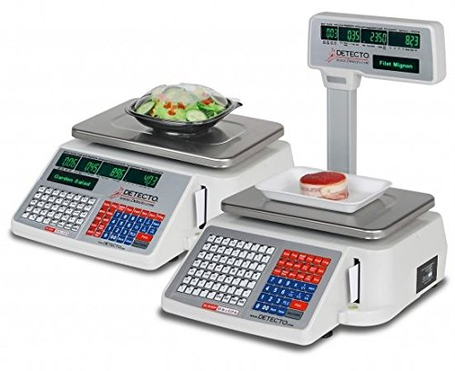 CardinalScales 6600-3003 DL Series Safe Handling Price Computing Scale with Intergral Label, 58 x 60 mm - 500 per Roll
