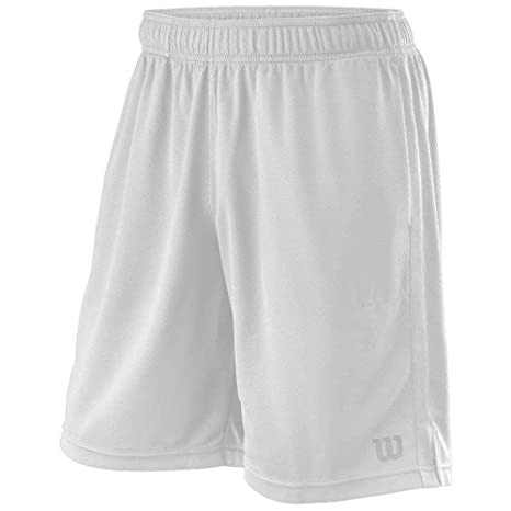 d80c95938d Wilson M Knit 9 Men's Shorts Tennis, Trousers, Men's: Amazon.co.uk ...