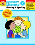 img - for Everyday Literacy Listening and Speaking, Grade 1 book / textbook / text book
