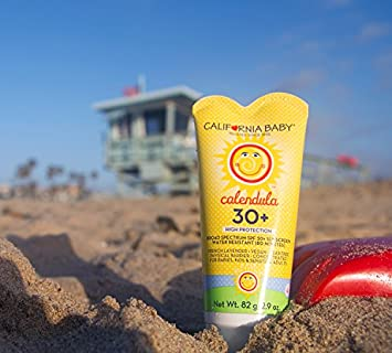 California Baby Broad Spectrum SPF 30 Sunscreen 2.9 oz – Calendula
