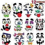 JOYIN Make 40 Faces Pumpkin Decorating Stickers