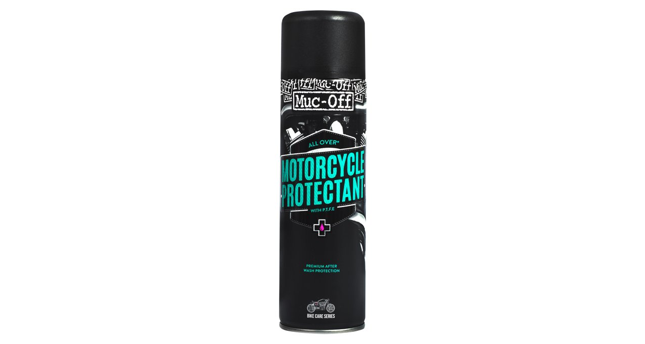 Muc Off 608US Black Motorcycle Protectant, 500ml by Muc Off