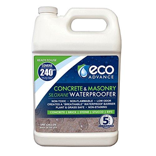 (Eco Advance EACON128PD 1 Gallon Concrete/Masonry Siloxane Waterproofer - Ready to Use)