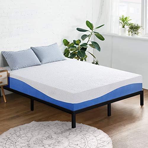 Olee Sleep 10 Inch Aquarius Memory Foam Mattress / Airflow Ventilation Mattress