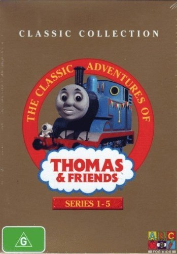 Classic Adventures of Thomas & Friends Series 1-5 DVD