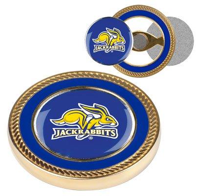 Dakota Ball South Golf (NCAA South Dakota State Jackrabbits - Challenge Coin / 2 Ball Markers)