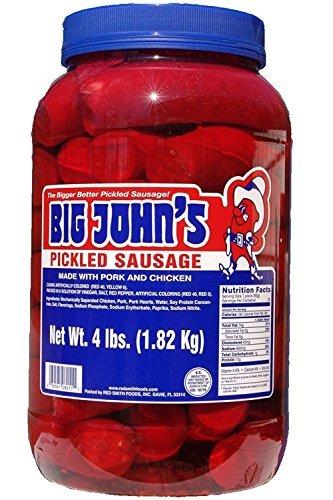 Pickled Gourmet (Big John's Pickled Sausage - 4 lb. jar)