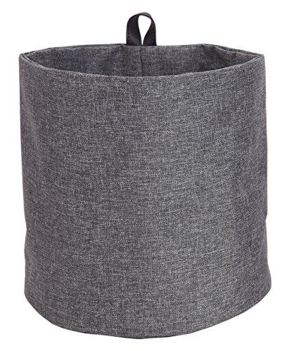 Bigso Soft Hang Around Storage Bin, Large, Grey