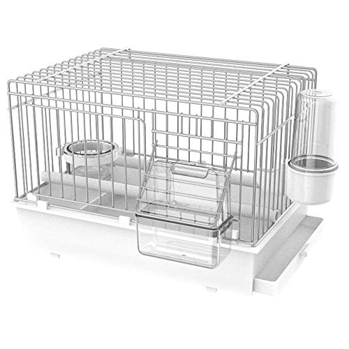 Pet Ting Luxury Bird Transport Cage - Travel Cage - Finch Canary Budgie Strong