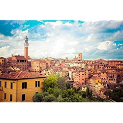 Siena Tuscany Italy Decorative Scenic Travel Photography Poster Print 8x10 11x14 16x20 Large Wall Art Living Room Wall Art Bedroom Wall Art