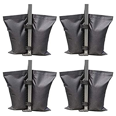 ABCCANOPY Industrial Grade Weights Bag Leg Weights for Pop up Canopy Tent, Patio Umbrella, Outdoor Furniture, 4pcs-Pack: Garden & Outdoor