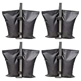 ABCCANOPY Industrial Grade Weights Bag Leg Weights for Pop up Canopy Tent 4pcs-Pack: more info