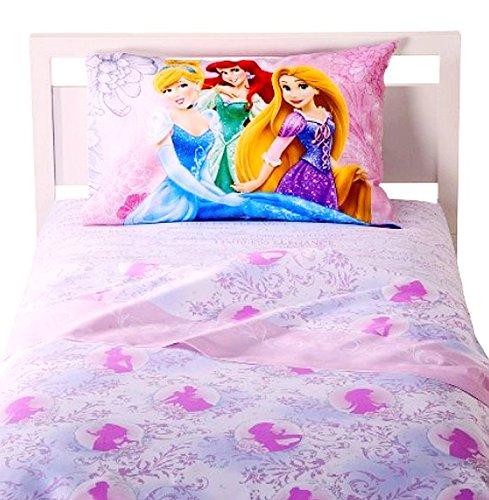 Disney Standard Sheet Set (Disney® Princess: Welcome to My Castle 3 Pc Full Size Sheet)