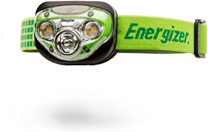 Energizer Vision LED Headlight 100 Lumen Head Torch Lamp with Batteries