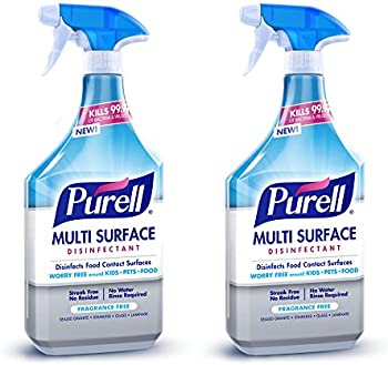 2-Pack Purell 28 oz. Multi Surface Disinfectant Spray