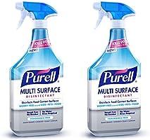 PURELL Multi Surface Disinfectant Spray – Fragrance Free, 28 oz. Spray Bottle (Pack of 2) - 2846-02-EC