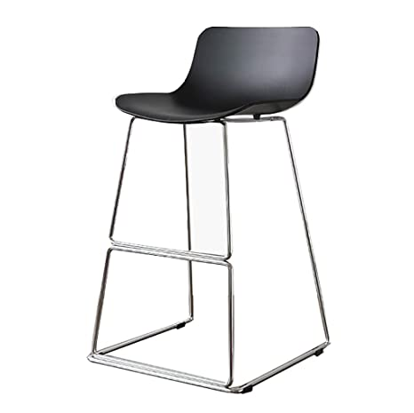 Amazon.com: Taburete alto, taburete de hierro, silla de ...