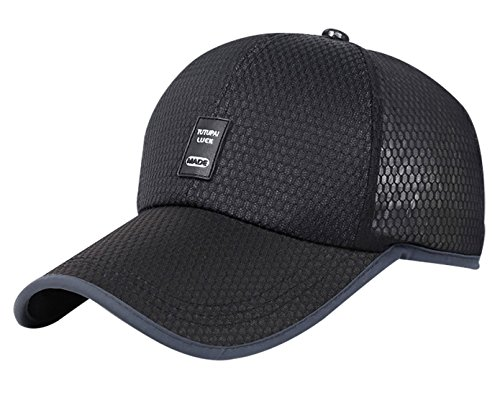 e78d7806fce91 Aivtalk Quick Dry Sports Peaked Cap Mesh Baseball Golf Cap Outdoor Fishing  Sun Hat Super Soft
