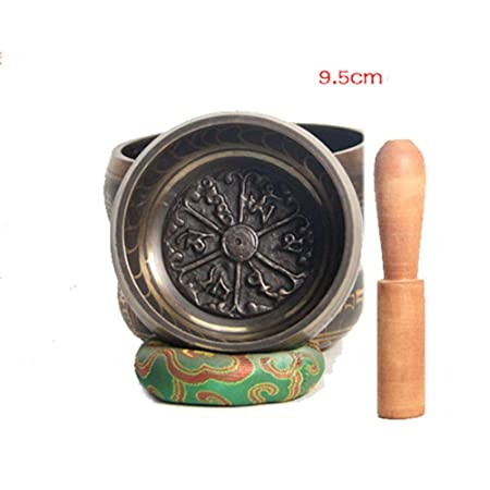 HAIHF Cuenco Tibetano,Cuenco, tazón de Fuente de Nepal Hecho ...