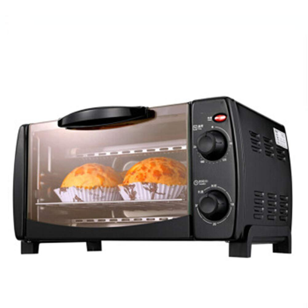 Toaster Oven, Multi-function stainless steel with timer - 10liters electronic temperature control /750W