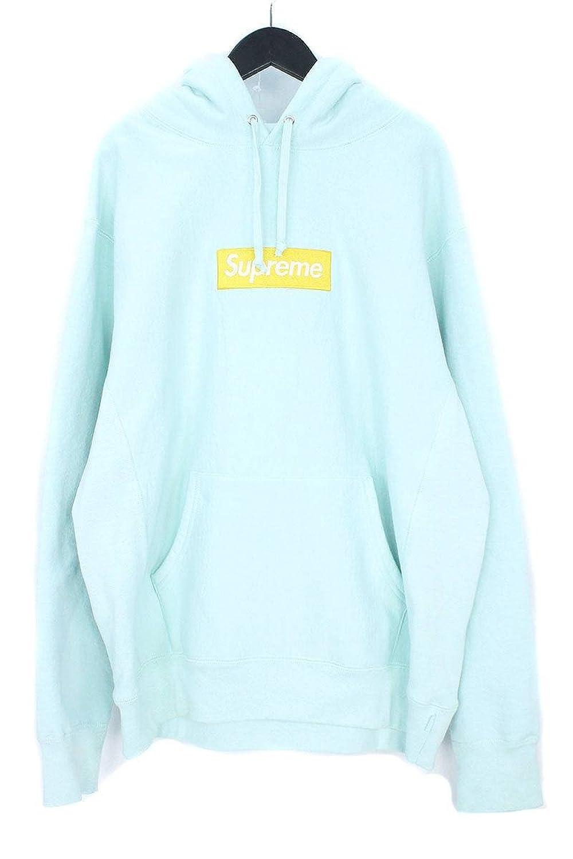(シュプリーム)SUPREME 【17AW】【Box Logo Hooded Sweatshirt】ボックスロゴプルオーバーパーカー(L/ライトブルー調) 中古 B0798HFSVL