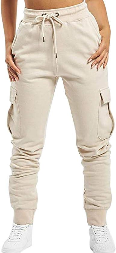 Shujin Pantalones de deporte para mujer, de algodón, ajustados ...