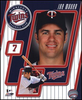 Joe Mauer Studio - 2011 Joe Mauer Studio Plus Art Poster PRINT Unknown 8x10