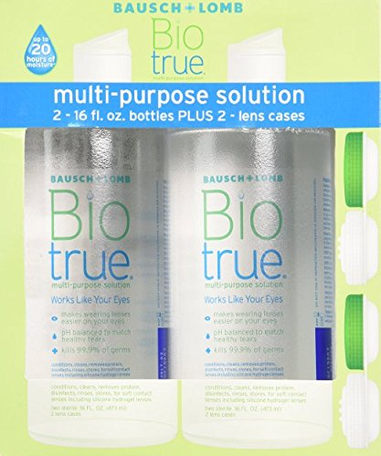- Biotrue Multi-Purpose Solution, 16 oz Twin Pack