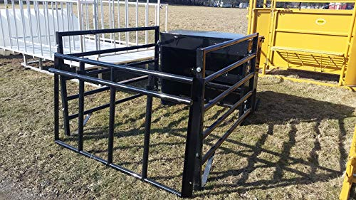 (HerdPro HD 600lb Capacity Creep Feeder with Cage)