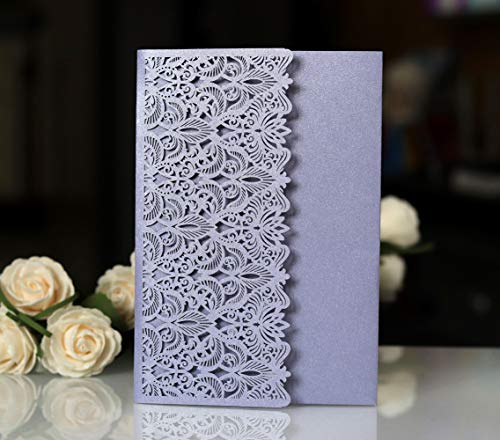 Invitation Cards with Envelopes for Wedding Invitations, Bridal