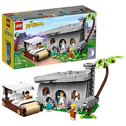 LEGO Ideas 21316 The Flintstones Building Kit, New 2019 (748 Pieces) (Best Collector Lego Sets)