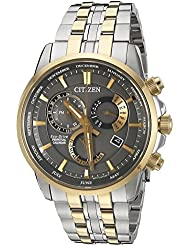 Citizen Mens BL8144-54H Eco-Drive Analog Quartz Two-Tone Stainless Steel Watch