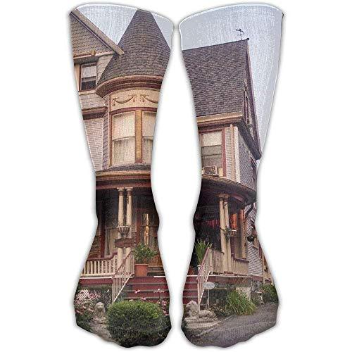 Victorian House Leisure Cotton Socks Men and Women Sports Socks