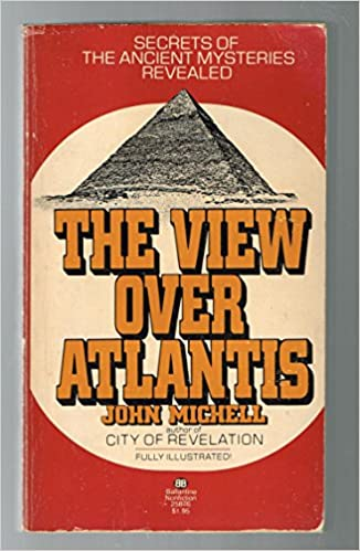 Image result for picture of the book cover by John Michell the View Over Atlantis