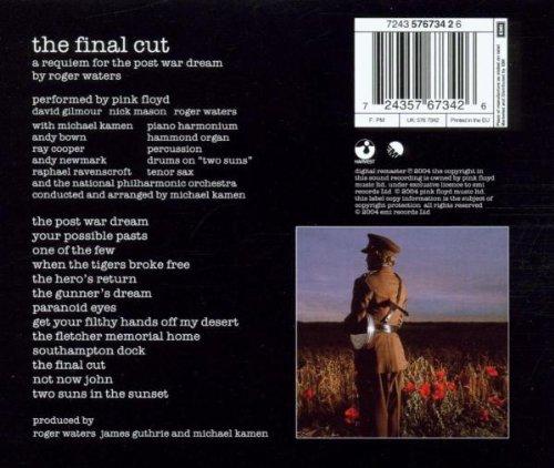 Pink floyd final cut альбом