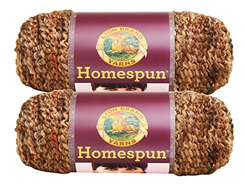 - Bulk Buy: Lion Brand Homespun Yarn (2-Pack) (Barley #790-381)