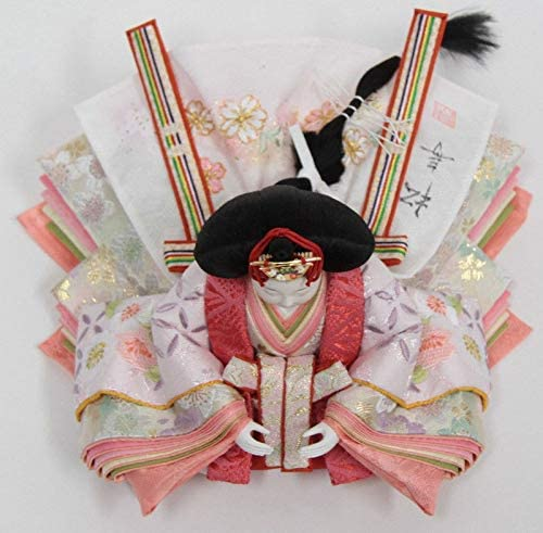 雛人形 親王収納飾り【おぼこ雛】[幅60cm]小出松寿 市川伯英頭[193to1376-a43] 雛祭り