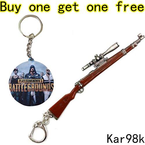 Playerunknown's Battlegrounds Weapon PUBG Collection Chicken Dinner GunKey Chain (Kra98k Gun)