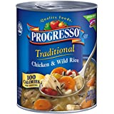 Progresso Traditional Soup, Chicken and Wild Rice, 19 oz, 12 Pack