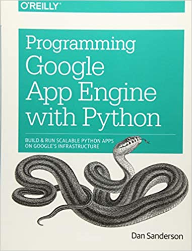 Amazon com: Programming Google App Engine with Python: Build and Run